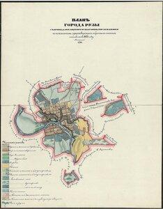 План города Рузы