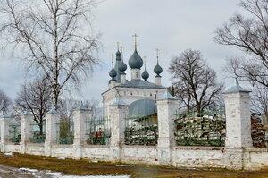 Годеновский храм святит. Иоанна Златоуста.