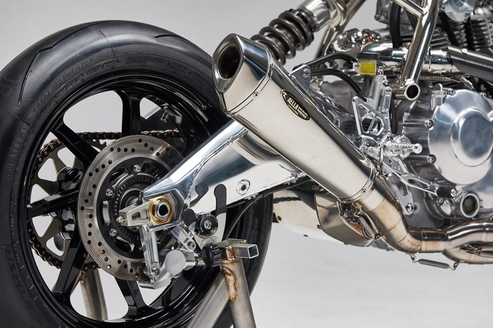 Кафе рейсер Aellambler на базе Scrambler Ducati
