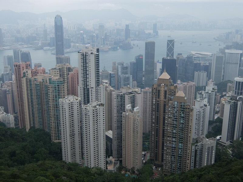 Гонконг - Вид с пика Виктория