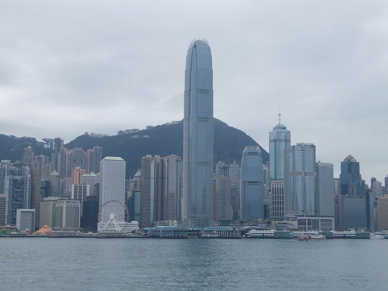 Гонконг - Здание IFC