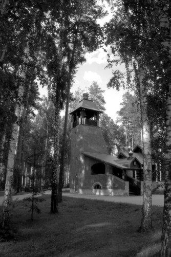 Храм во имя преподобного Серафима Саровского. Ганина Яма. Екатеринбург