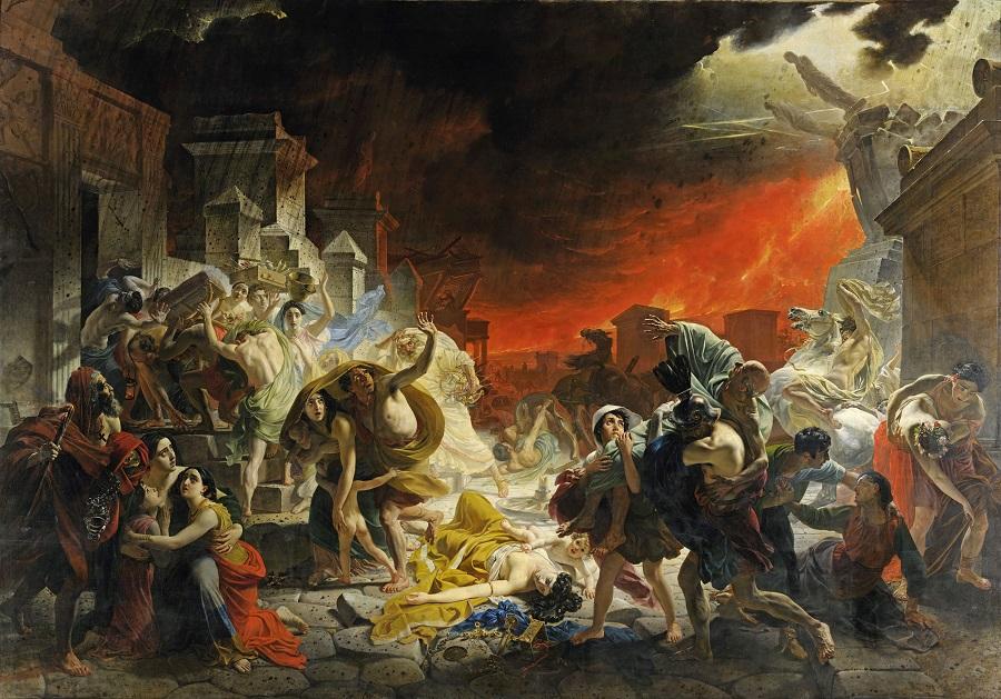 Последний день Помпеи. 1830-1833 (456 x 651) Государственный Русский музей, С.-Петербург