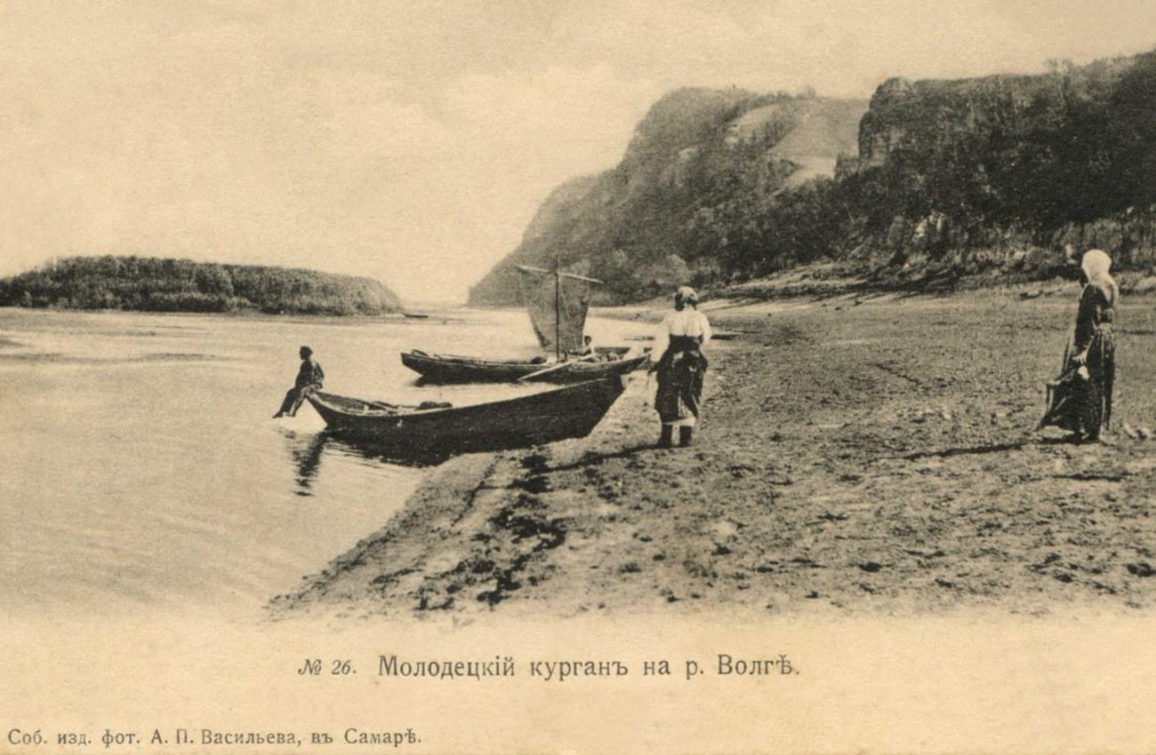 Окрестности Самары. Молодецкий курган на Волге