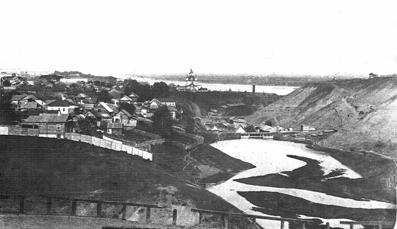 Вид на город с Соликамского тракта