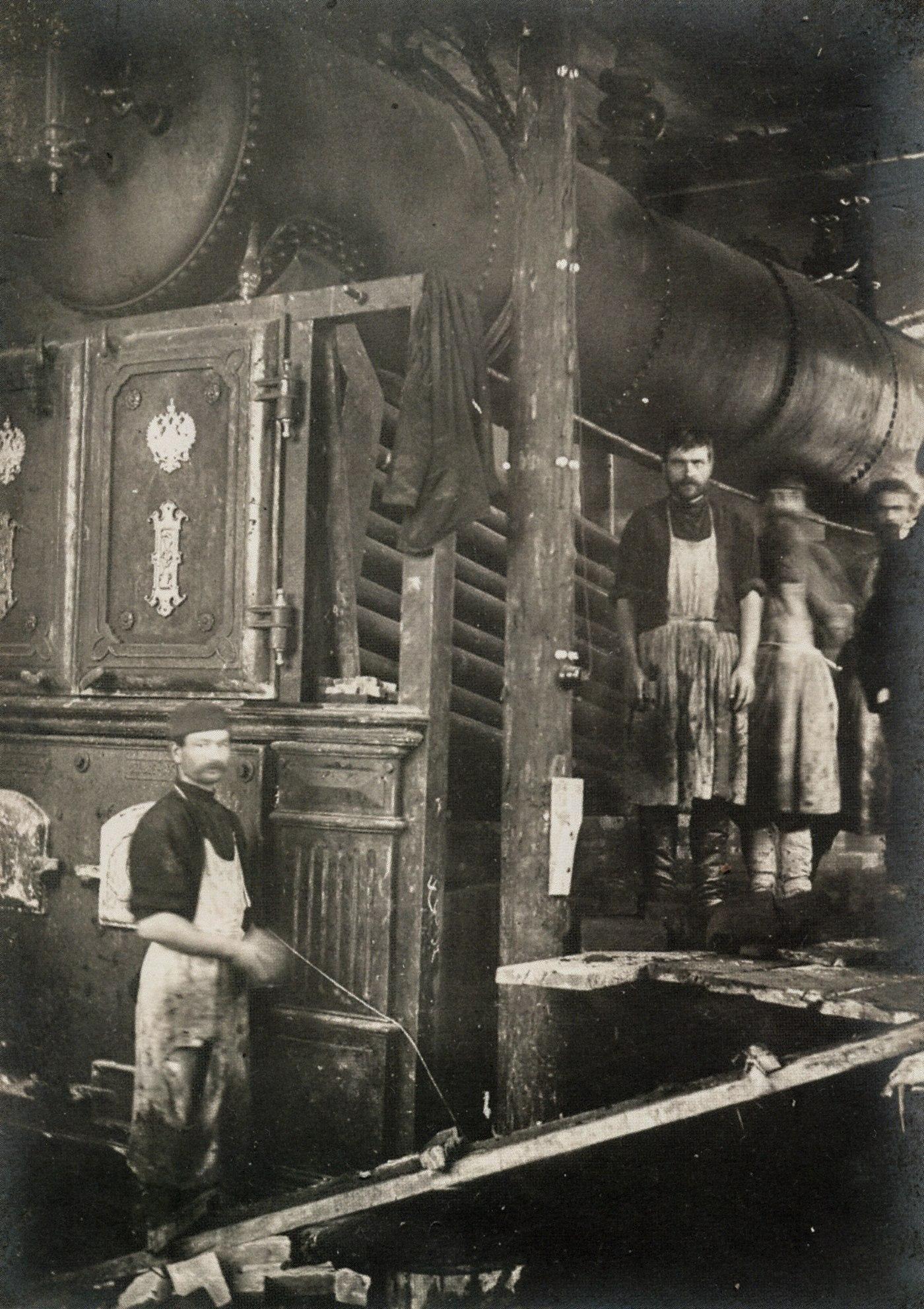 Котел электростанции. 1902