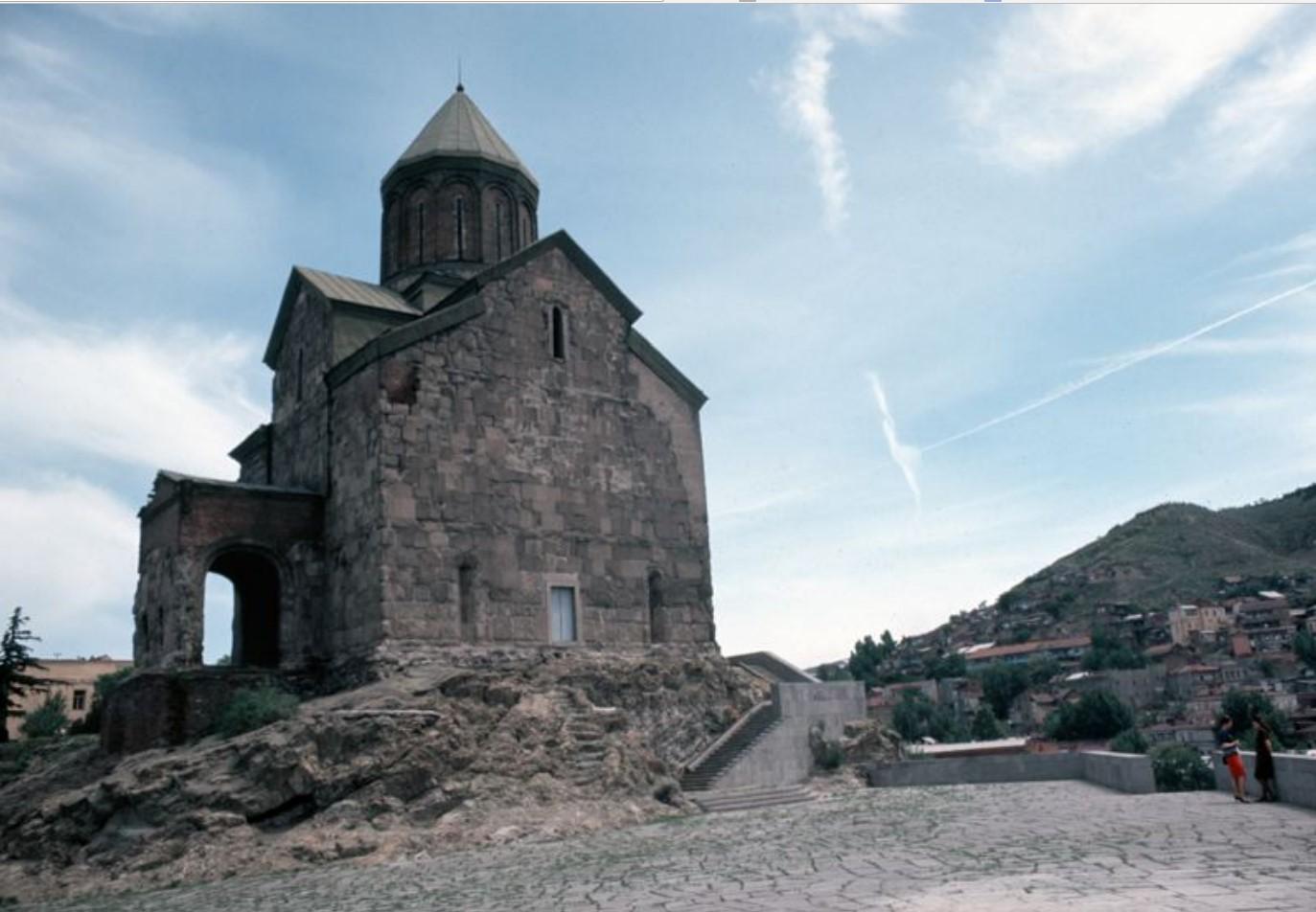 Тбилиси. Церковь Метехи