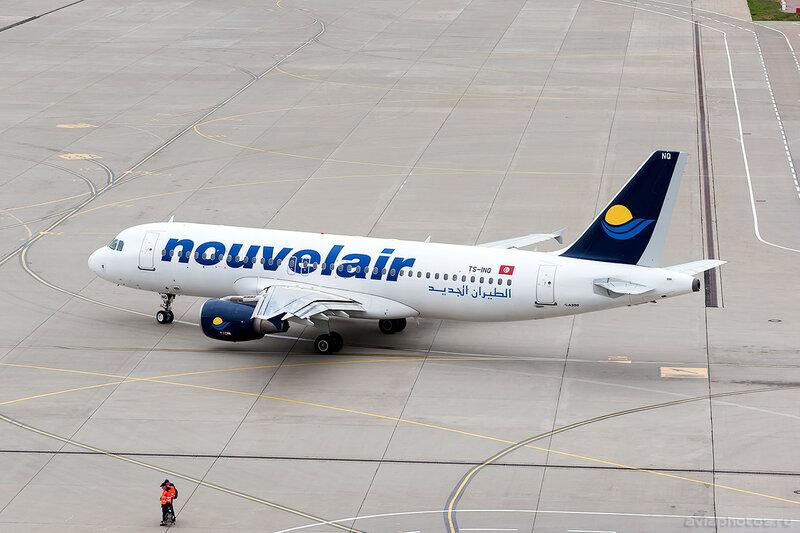 Airbus A320-214 (TS-INQ) Nouvelair 0066_D705653