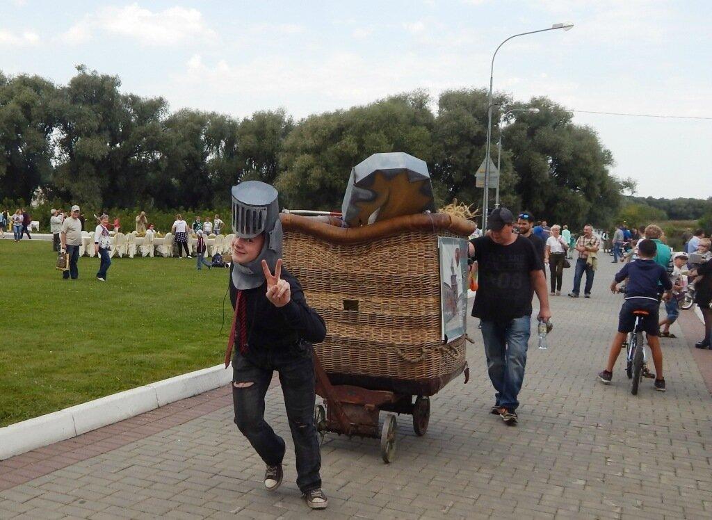 Литературно-яблочный фестиваль «Антоновские яблоки» 2017. Часть VI
