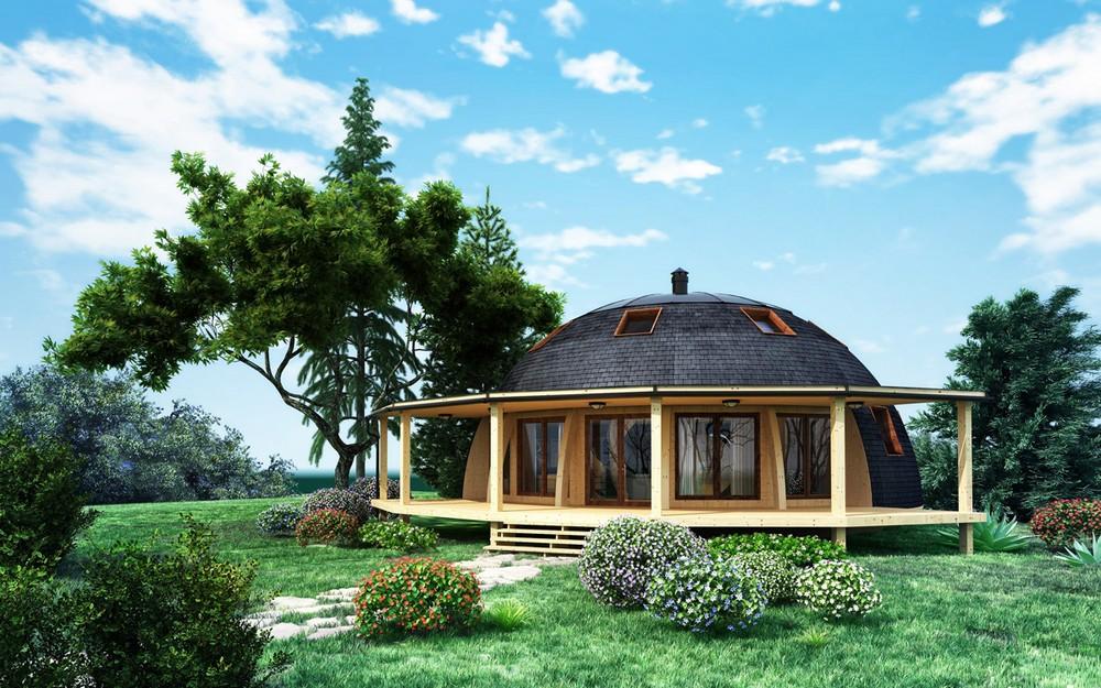 Преимущества купольных домов