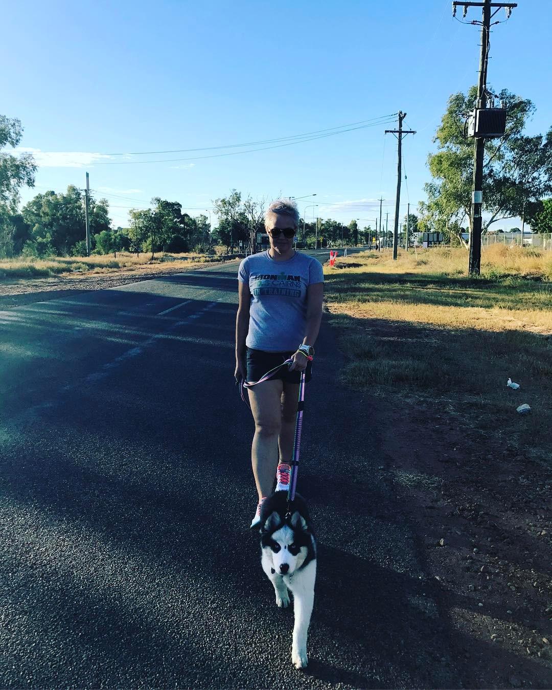 Австралийка сбросила 115 кг благодаря триатлону
