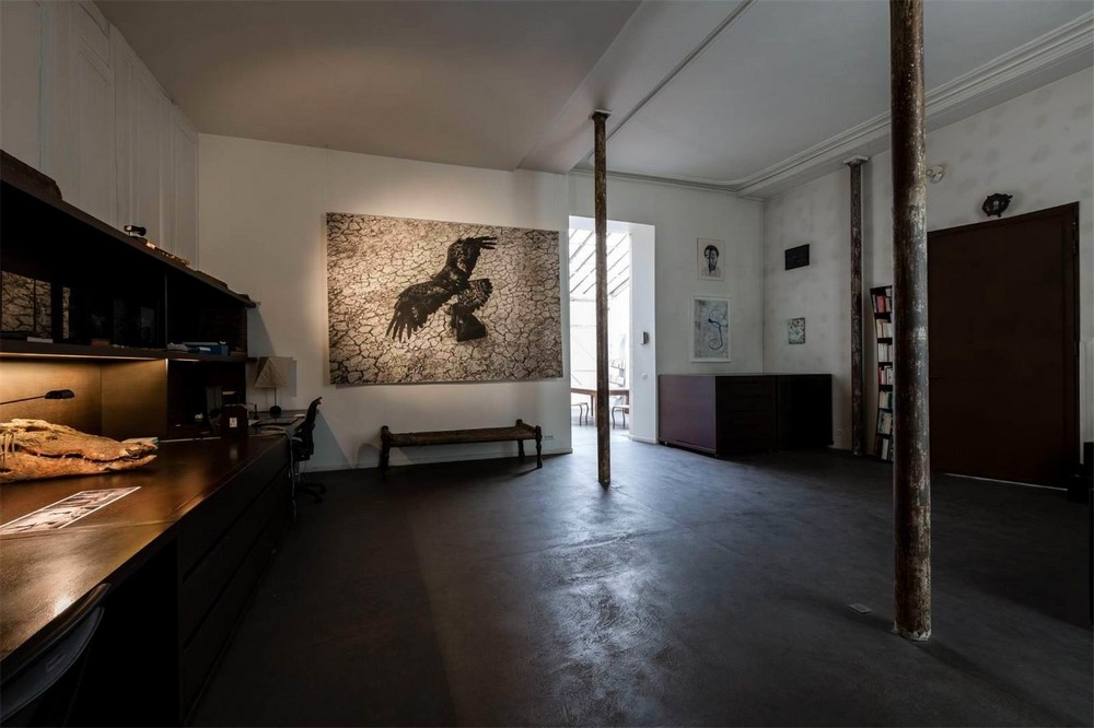 Интерьеры. Лофт в центре Парижа за €8.9 миллиона