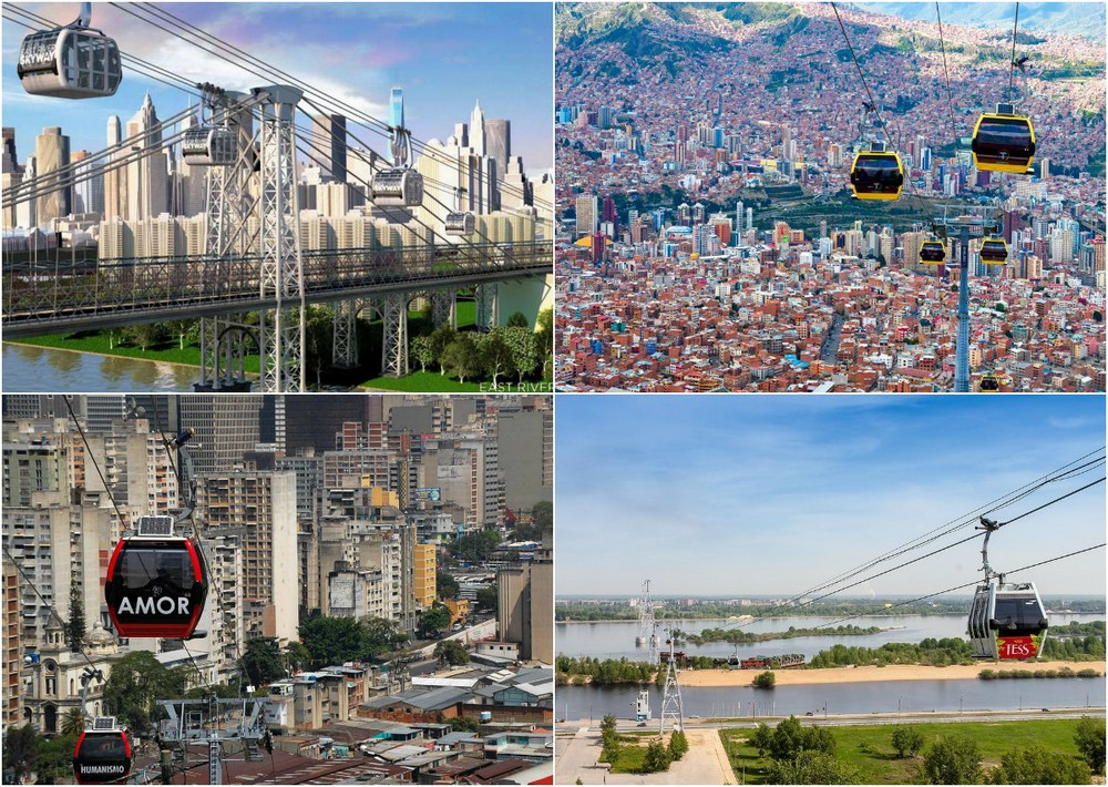 Удивительные канатные дороги, изменившие жизнь городов