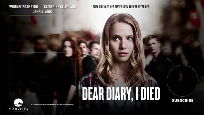 дорогой дневник, сегодня я умерла