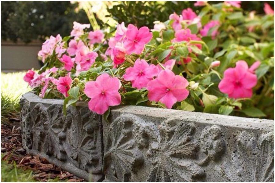 Окантовки для клумб, цветников