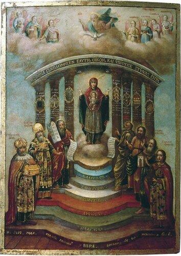 Икона Софии, Премудрости Божией (Киевская)