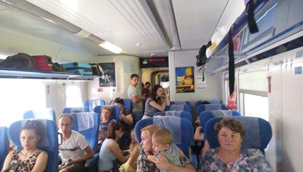 Из Киева вПеремышль. Укрзализныця запустила новый поезд Интерсити+