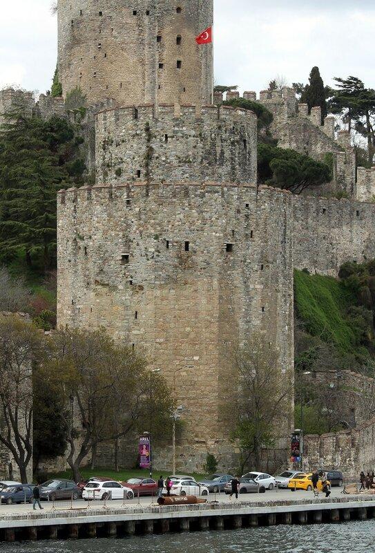 Крепость Румелихисар (Rumeli Hisarı)