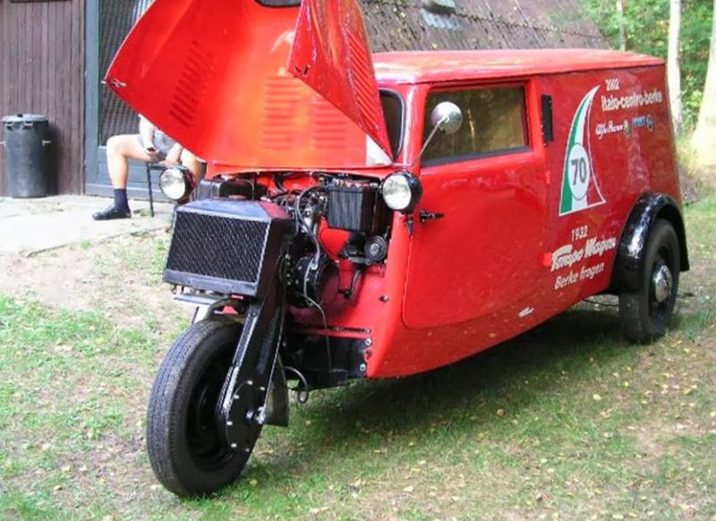 Одно ведущее Компания Tempo была основана в Гамбурге в конце XIX века и производила легкие грузовики