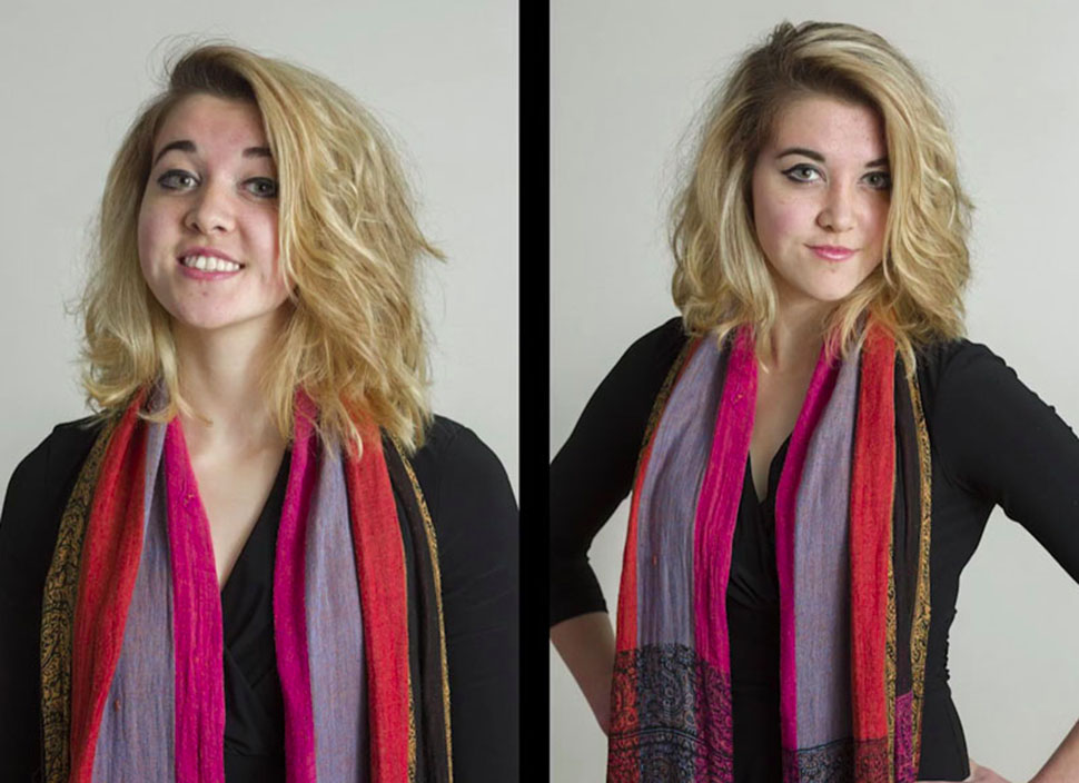 Эксперимент: можно ли отличить профессиональный фотопортрет от любительского (7 фото)