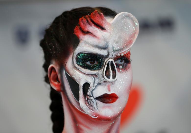 Человеческое тело, как холст: Всемирный фестиваль боди-арта в Австрии 2017