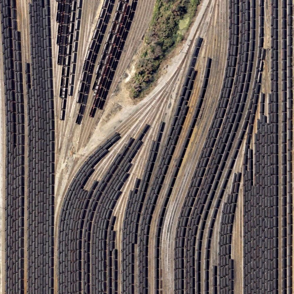 © pinterest     Поезда суглем, Вирджиния, США.