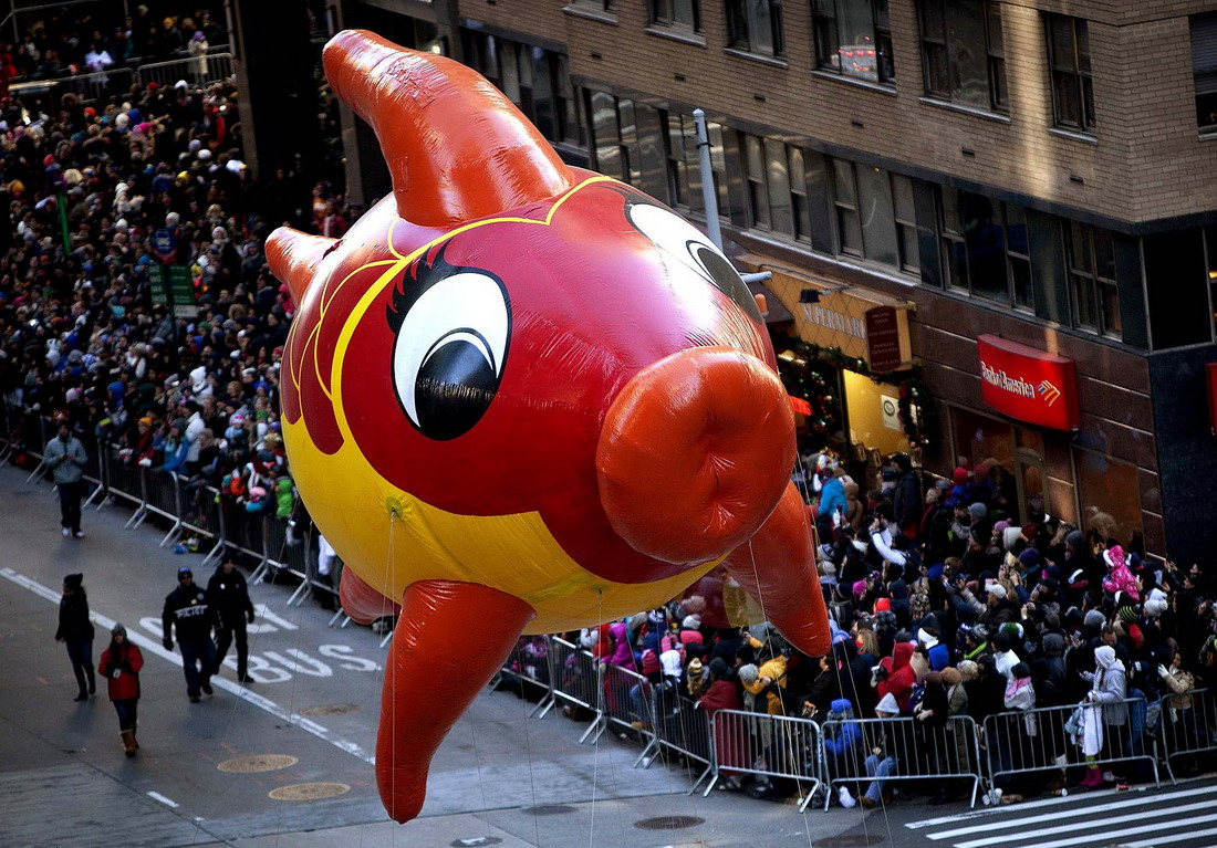 Традиционный Macys Thanksgiving Day Parade (28 фото)