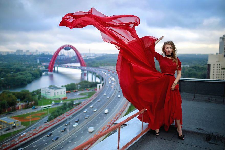 Живописный мост, Москва.