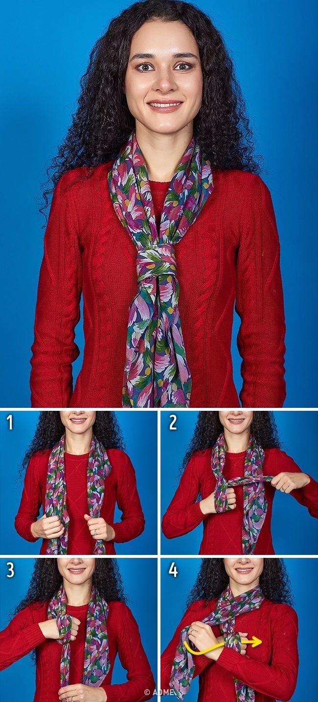 Чалма излегкого шарфа
