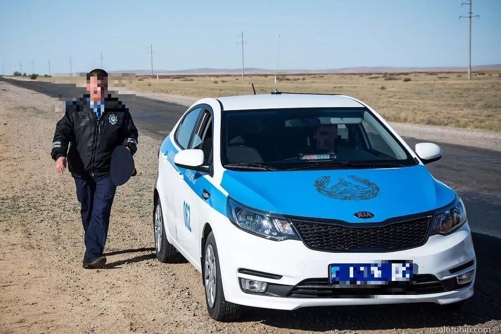 """Россиян возмутил """"беспредел"""" дорожной полиции в Казахстане"""