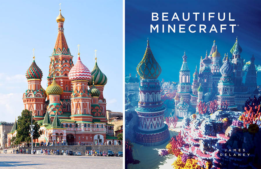 Amazing Minecraft Constructions Created with Billions of Blocks (9 pics)