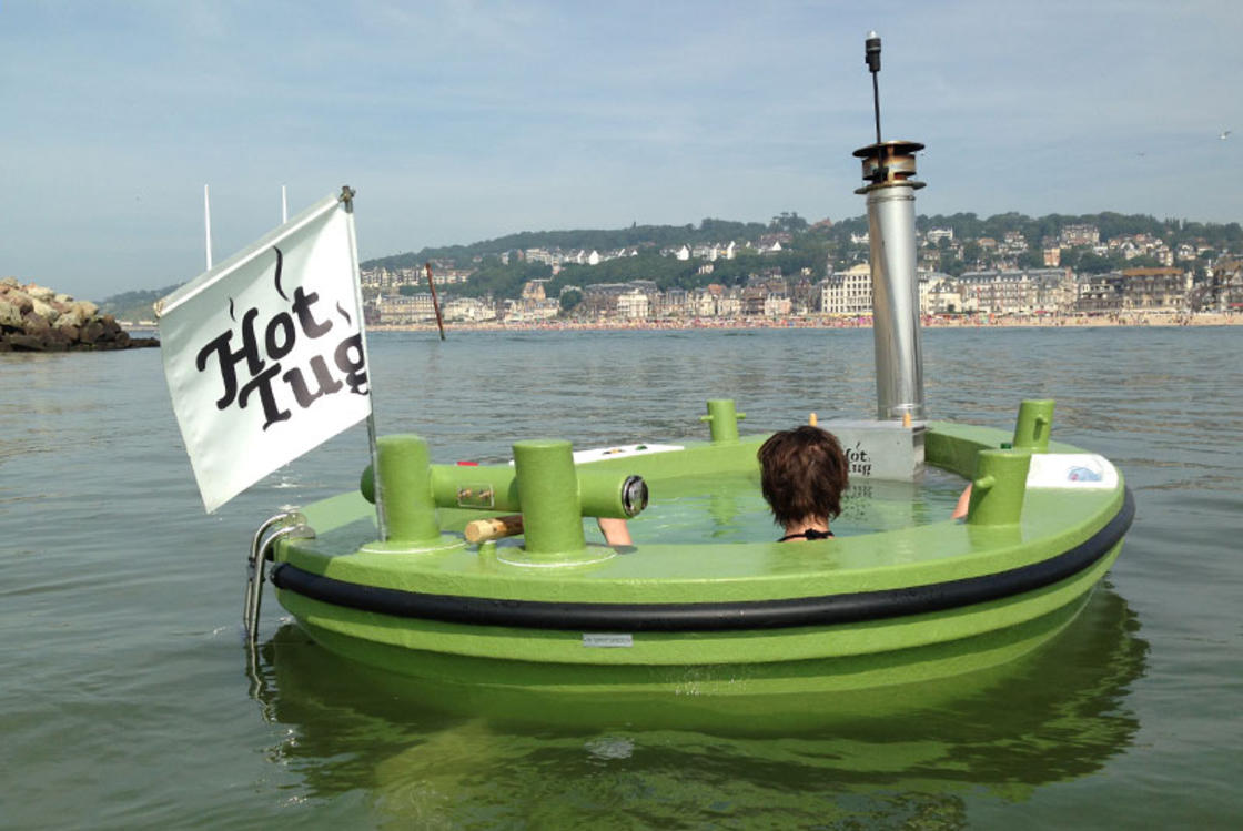 HotTug – Sailing with your hot tub!