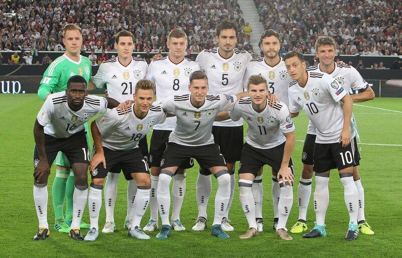 Германия - Норвегия 6:0. 4 сентября 2017. Отборочный матч Чемпионата Мира 2018