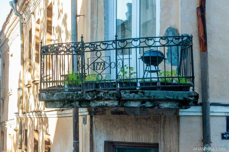 Балкон дома Лунда, Выборг
