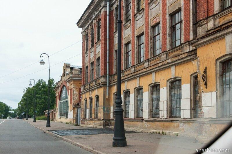 Комплекс зданий Машинной школы Балтийского флота, Кронштадт, Санкт-Петербург