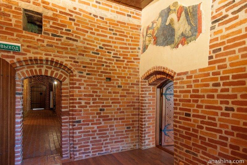 Одно из помещений Владычной палаты, Великий Новгород