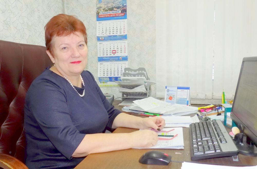 Галина Желудова, начальник отдела камеральных проверок