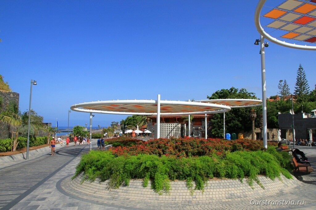 Лучшие пляжи Коста Адехе - Плайя дель Дюк, Тенерифе
