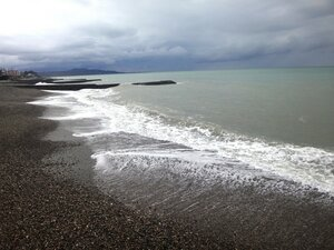 У моря Чёрного, в Абхазии, время зимнее, Новогоднее (26).JPG