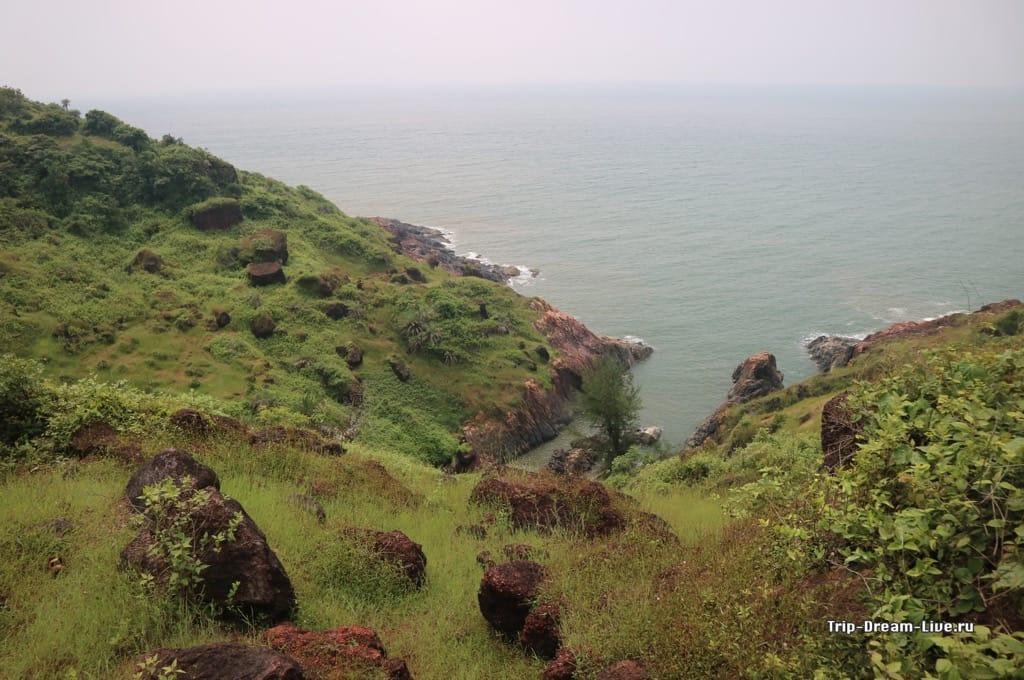 Виды с холма в Гокарне