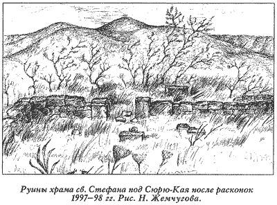 Руины в 1997 году