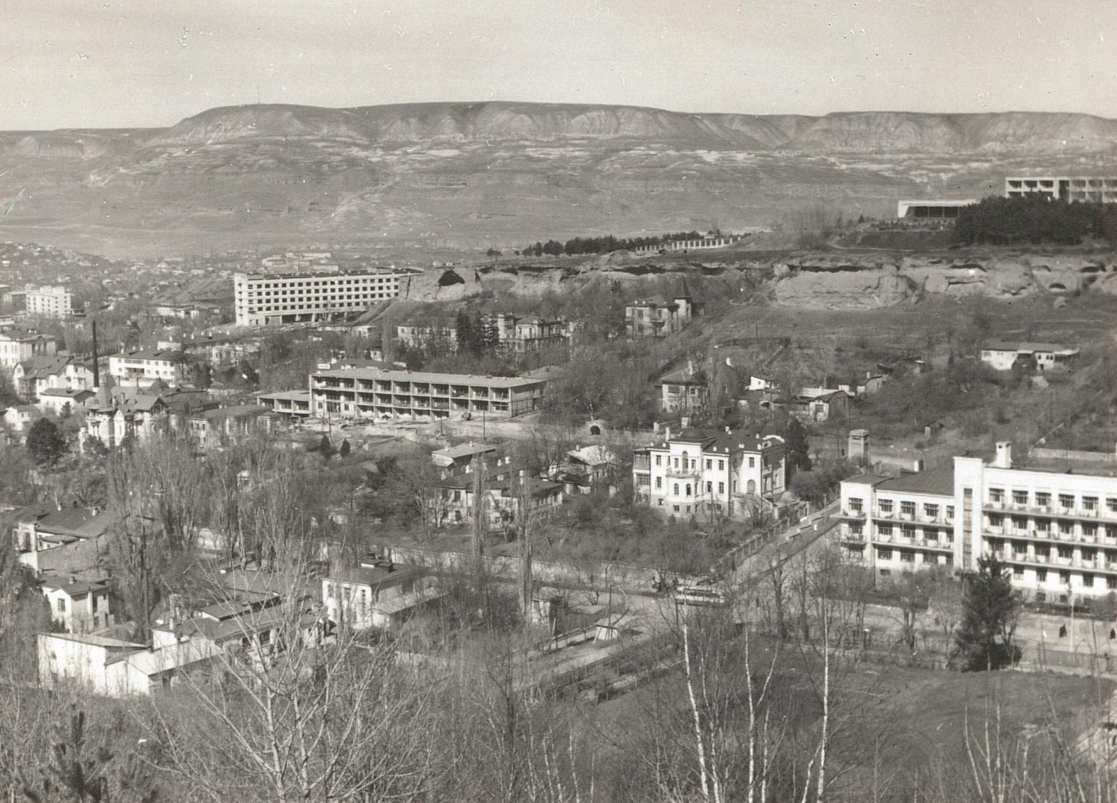 Кисловодск. Общий вид, 1967