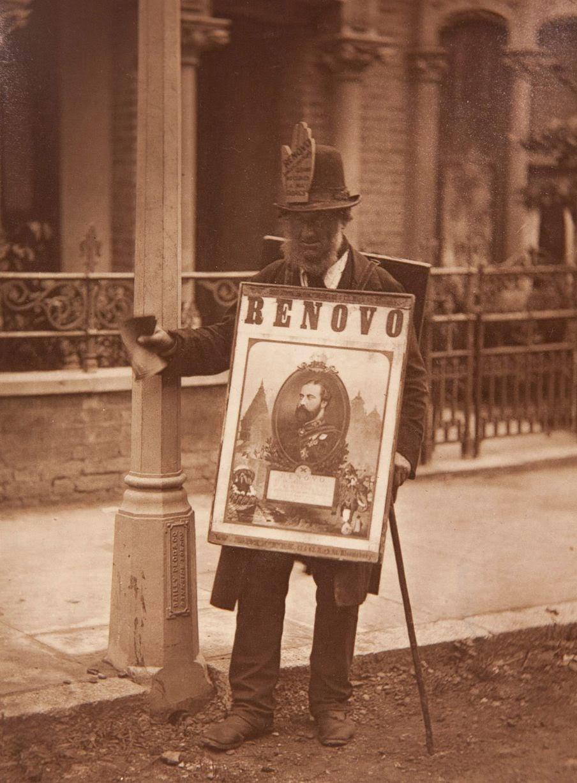 1877. Человек-реклама