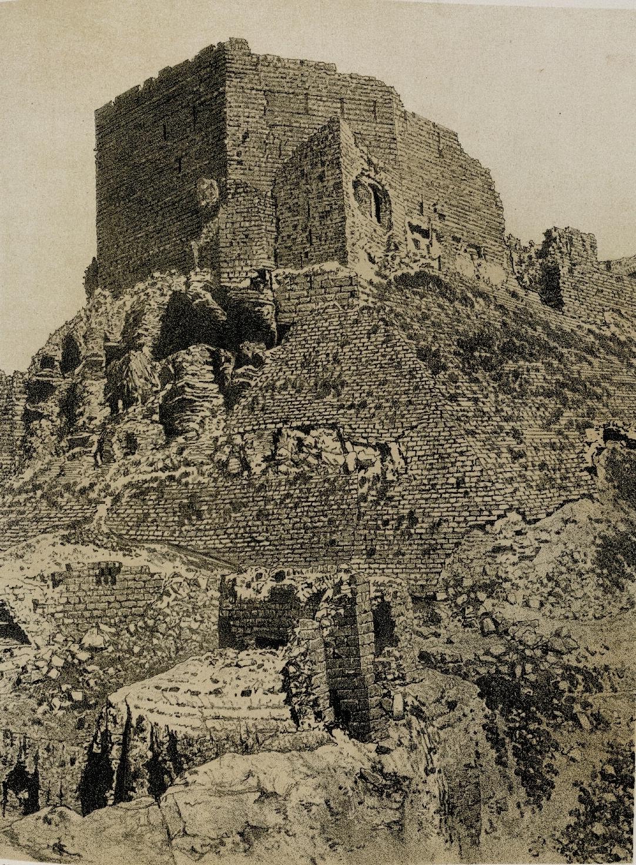 62. Эль-Карак. Южный угол крепости