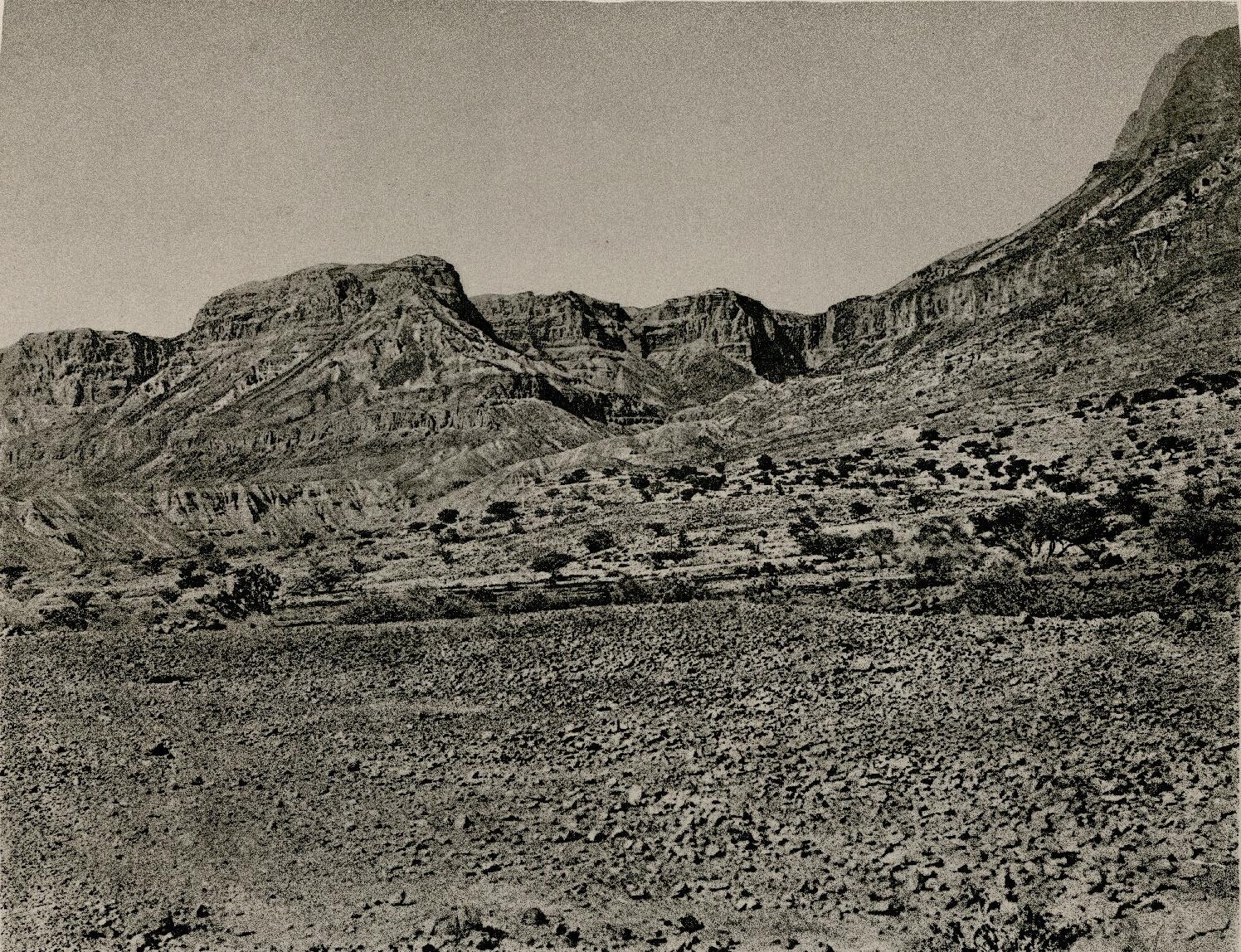 29. Берег Мертвого моря. Вид Вади Арейи