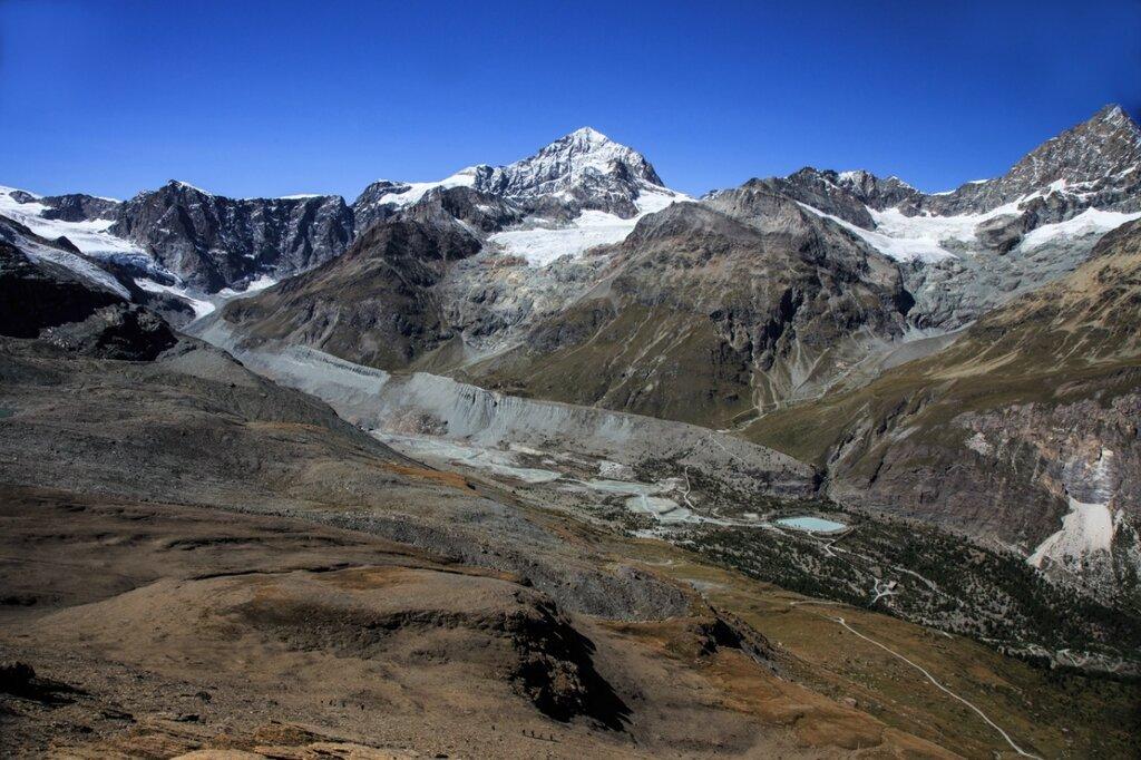 Пешком по Швейцарским Альпам