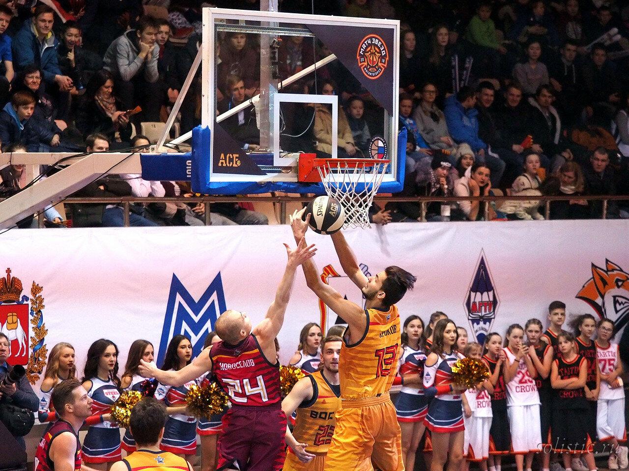 61 Матч звезд АСБ 2018 (ассоциации студенческого баскетбола)