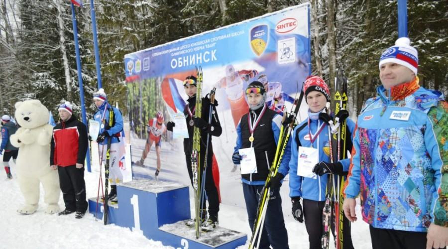 Жители Обнинска встали на лыжи