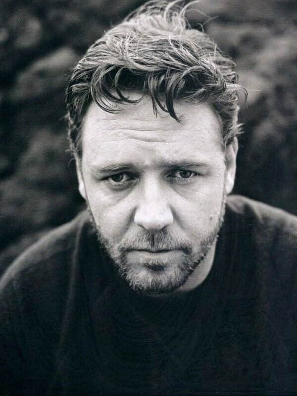 Russell Crowe photographed by Sam Jones