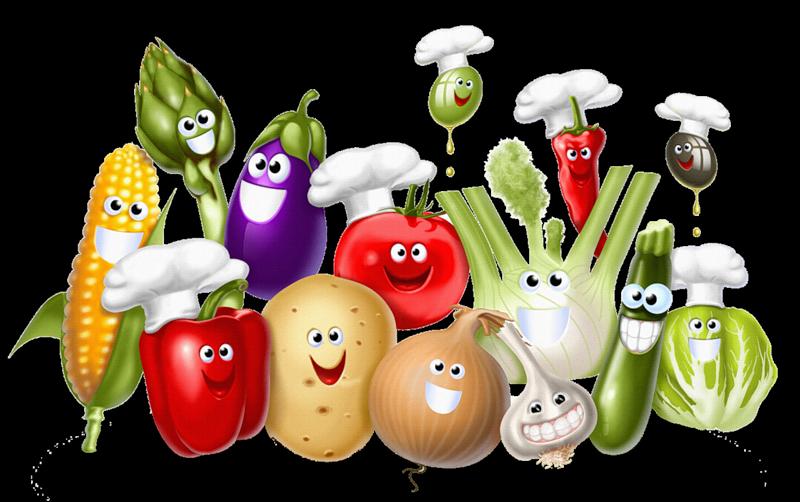 Международный день повара. Веселые овощи
